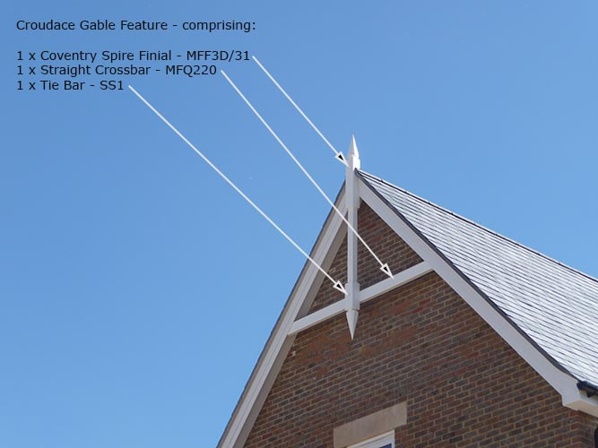Finial Roof Amp Grp Finials U0026 Gable Features